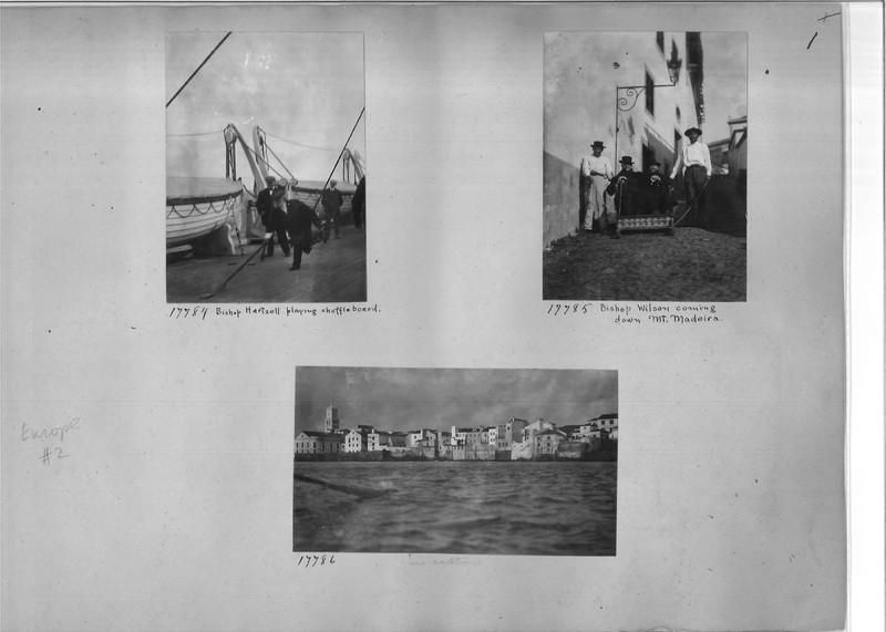 Mission Photograph Album - Europe #02 Page 0001
