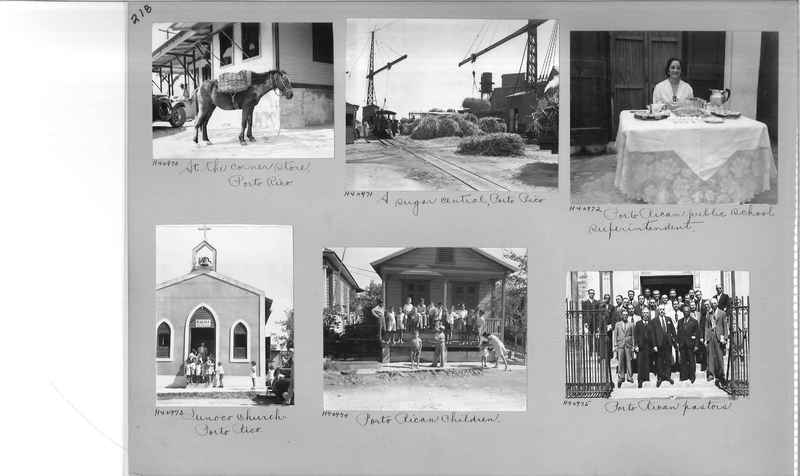 Mission Photograph Album - Puerto Rico #3 page 0218