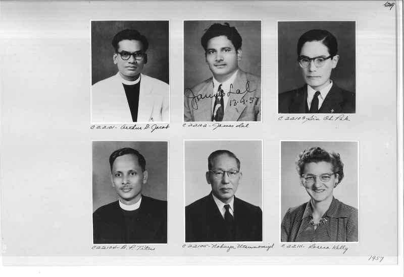Mission Photograph Album - Portraits #10 Page 0129