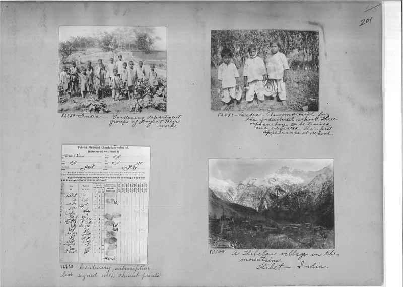 Mission Photograph Album - India #09 Page 0201
