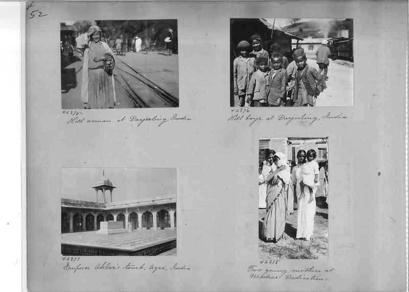 Mission Photograph Album - India #09 Page 0052
