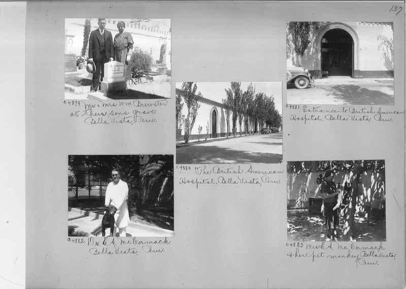 Misson Photograph Album - South America #8 page 0137