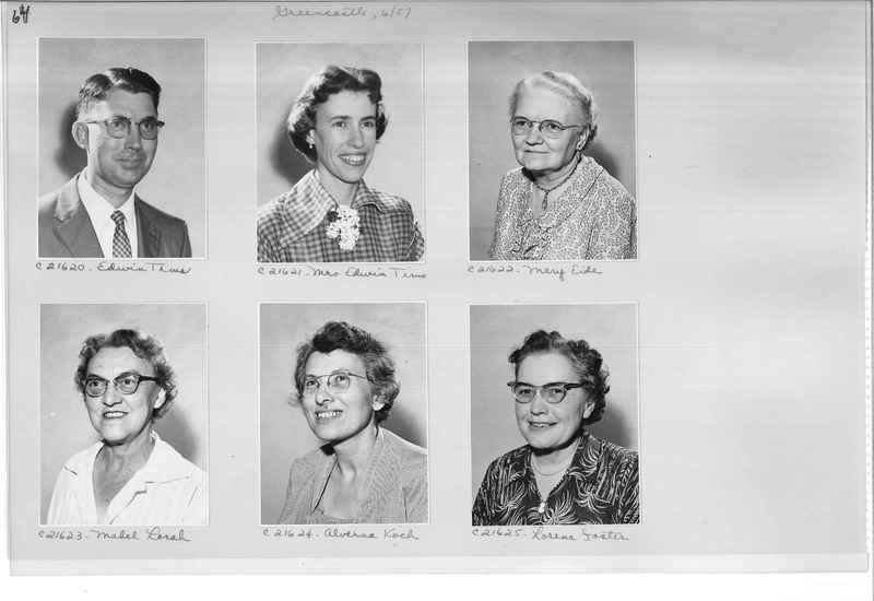 Mission Photograph Album - Portraits #10 Page 0064