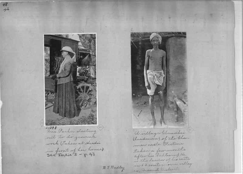 Mission Photograph Album - India - O.P. #01 Page 0048