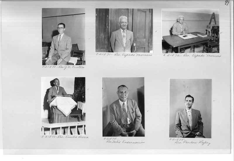 Mission Photograph Album - Portraits #10 Page 0097