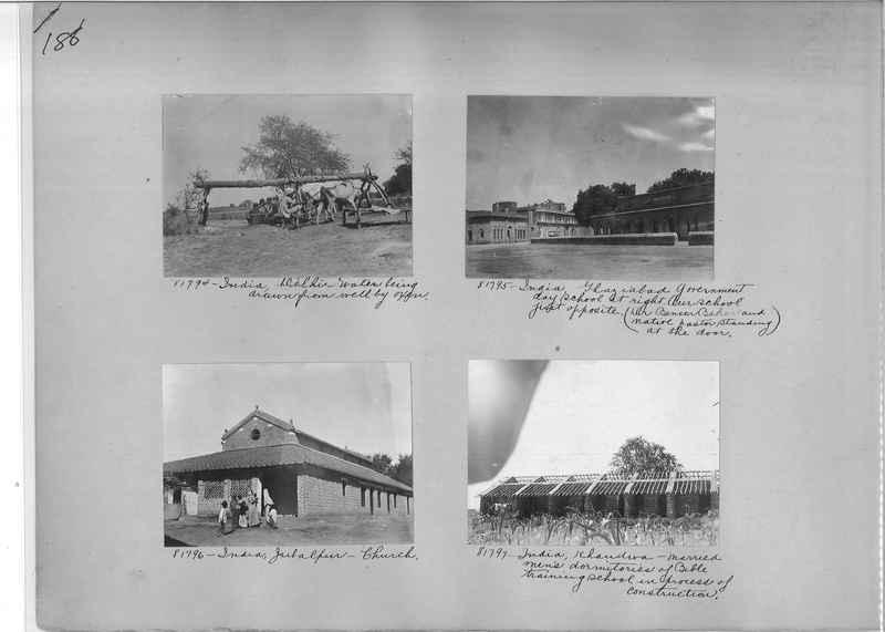 Mission Photograph Album - India #09 Page 0188