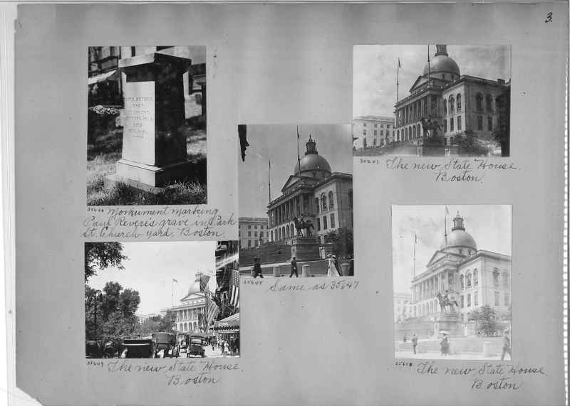 Mission Photograph Album - America #3 page 0003