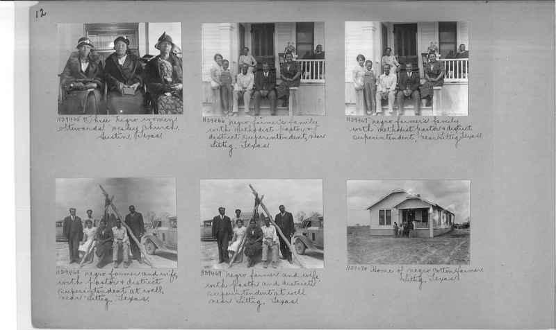 Mission Photograph Album - Negro #6 page 0012