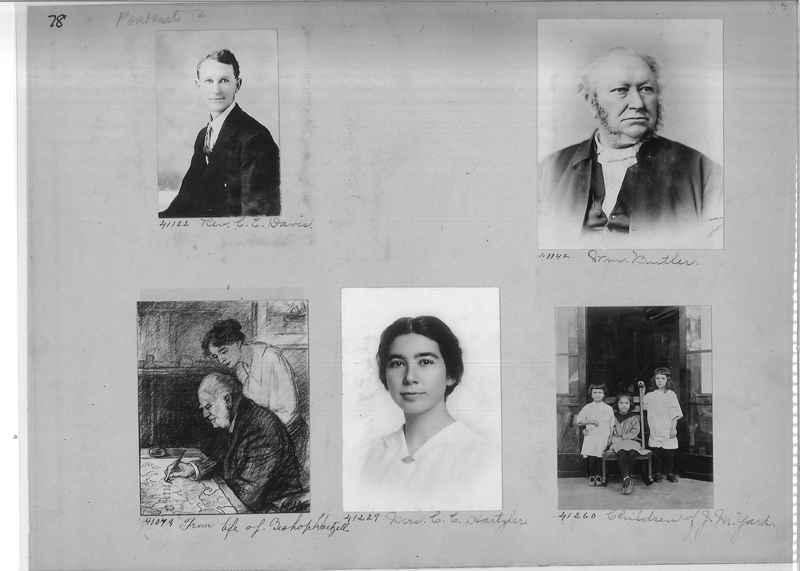 Mission Photograph Album - Portraits #2 page 0078