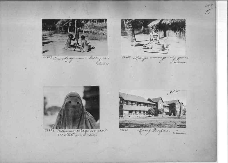 Mission Photograph Album - India #08 Page 0015