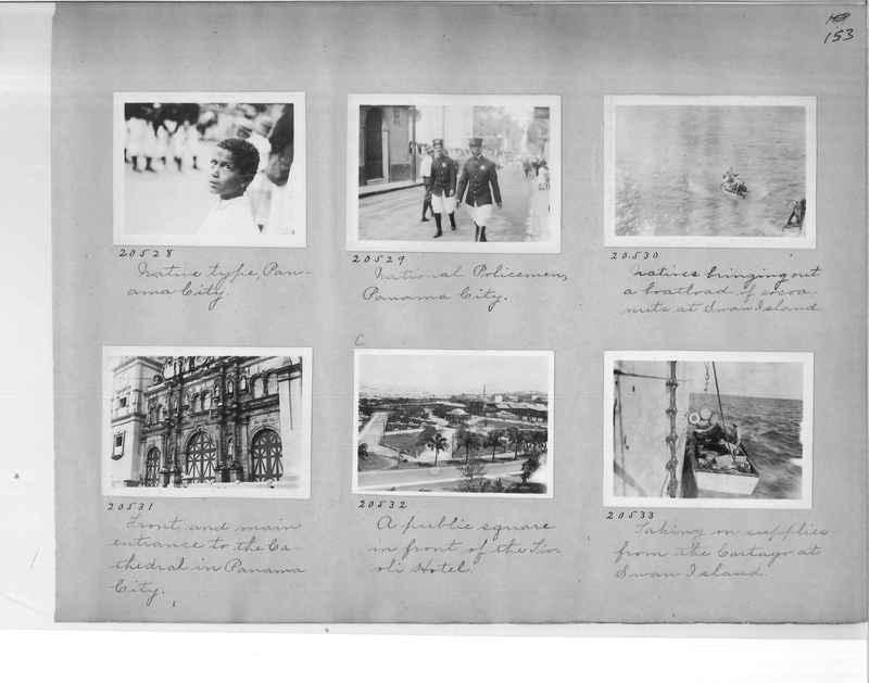 Mission Photograph Album - Panama #1 page  0153