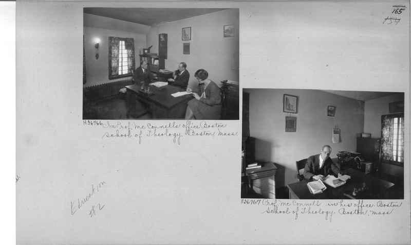 Mission Photograph Album - Education #2 page 0165