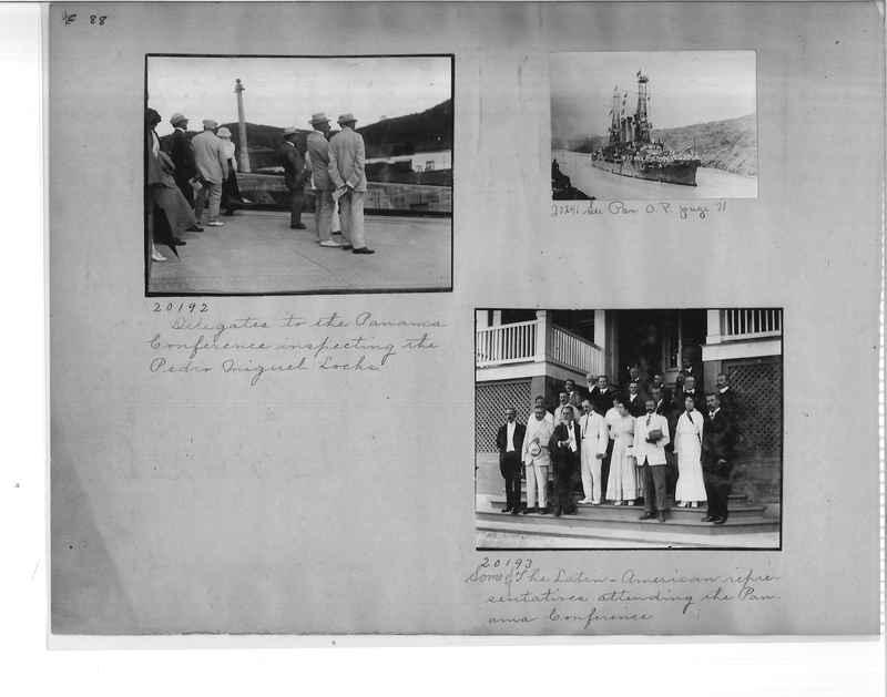 Mission Photograph Album - Panama #1 page  0088