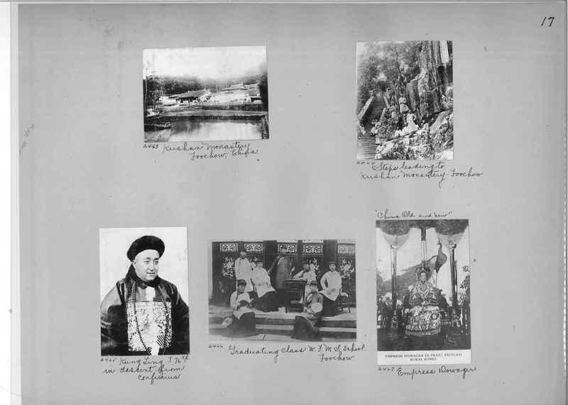 Mission Photograph Album - China #2 page  0017