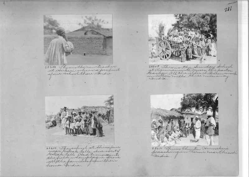 Mission Photograph Album - India #08 Page 0211