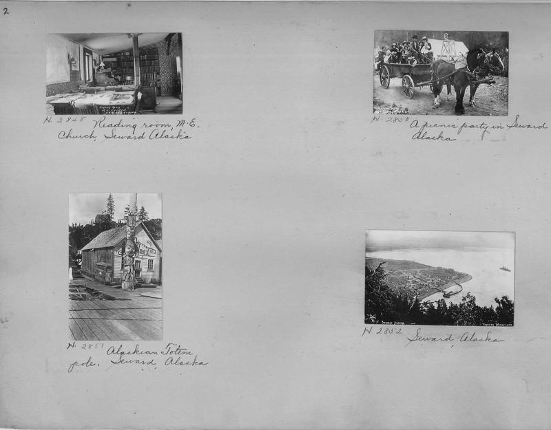 Mission Photograph Album - Alaska #1 page 0002