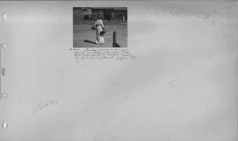 Mission Photograph Album - Negro #1 page 0177
