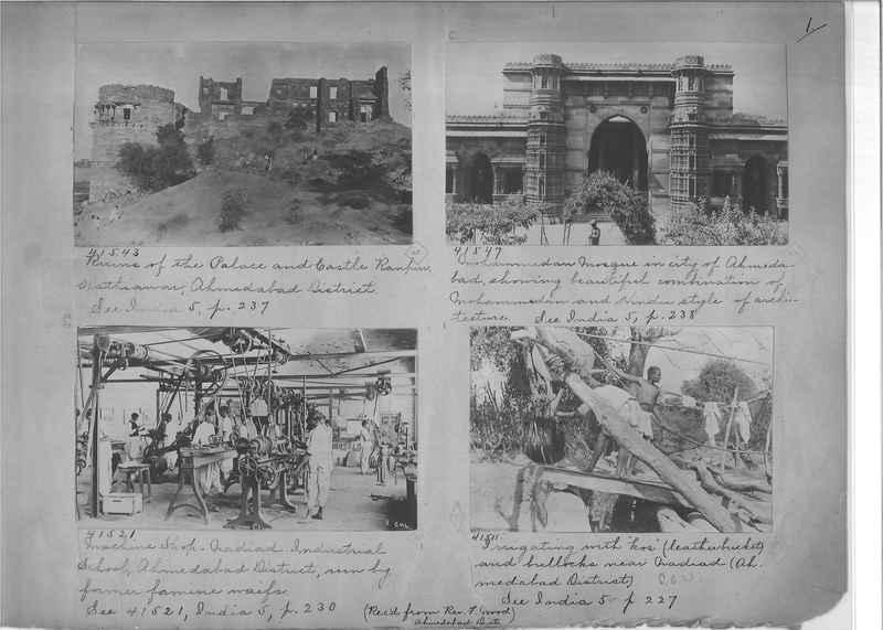 Mission Photograph Album - India - O.P. #01 Page 0001