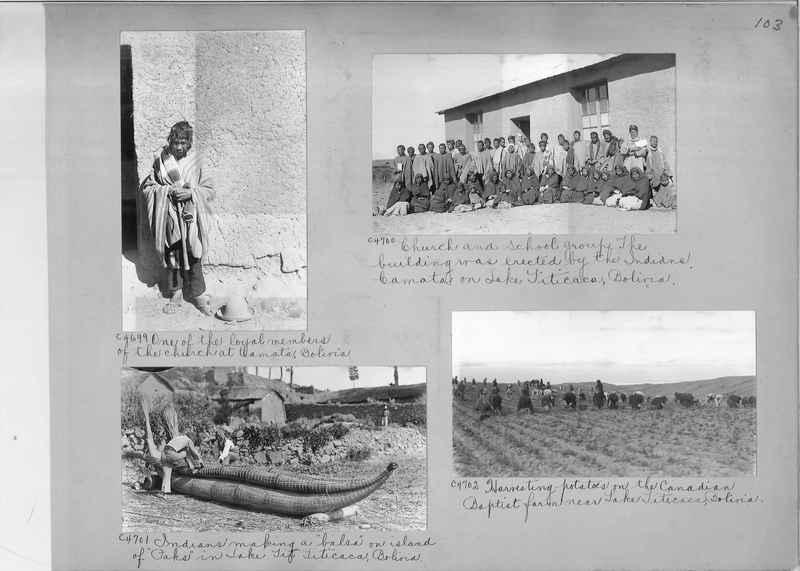 Misson Photograph Album - South America #8 page 0103