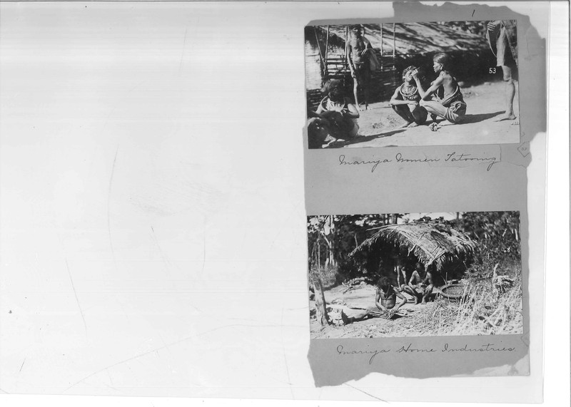 Mission Photograph Album - India - O.P. #02 Page 0001