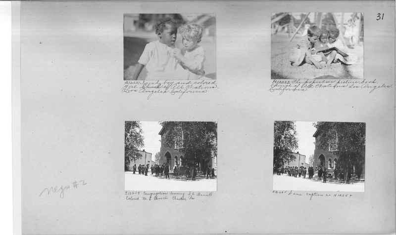 Mission Photograph Album - Negro #2 page 0031