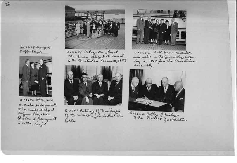 Mission Photograph Album - Portraits #13 Page 0038