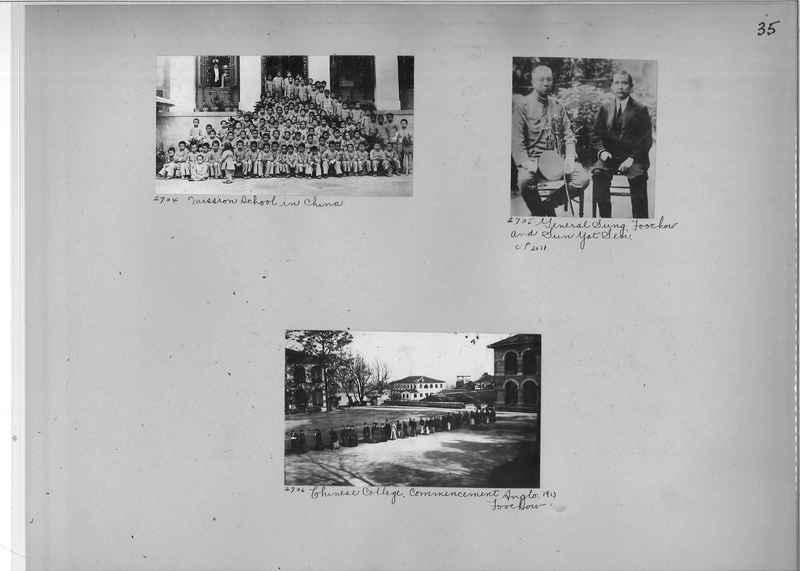 Mission Photograph Album - China #2 page  0035