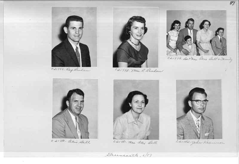 Mission Photograph Album - Portraits #10 Page 0087