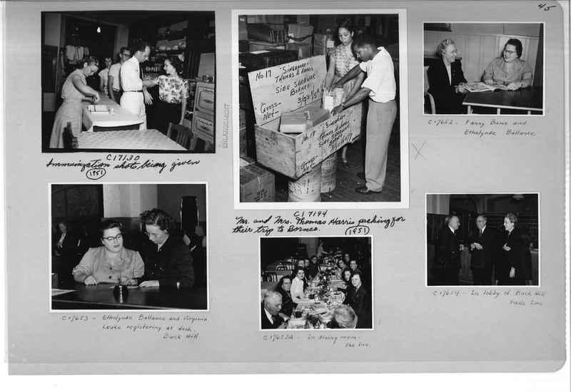 Mission Photograph Album - Portraits #13 Page 0045