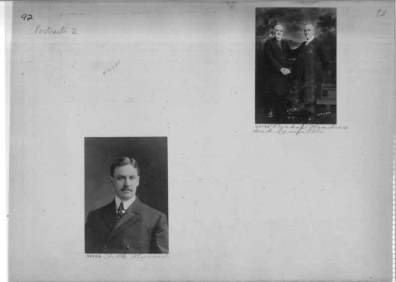 Mission Photograph Album - Portraits #2 page 0092