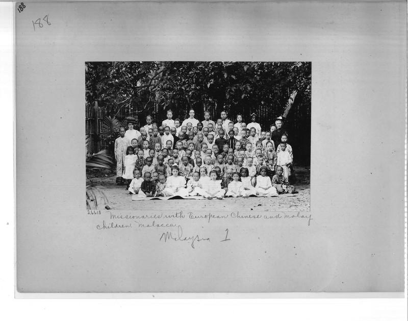 Mission Photograph Album - Malaysia #1 page 0188