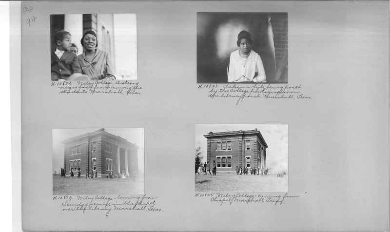 Mission Photograph Album - Negro #1 page 0094