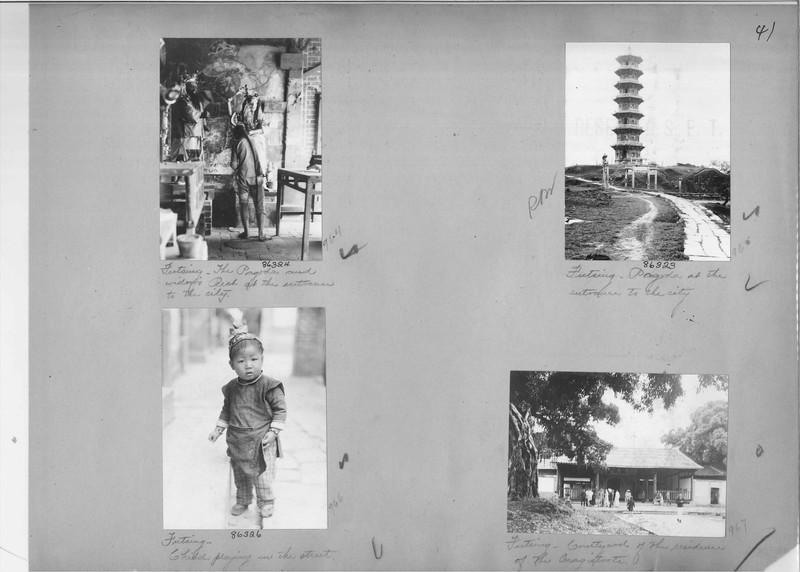 Mission Photograph Album - China #19 page 0041