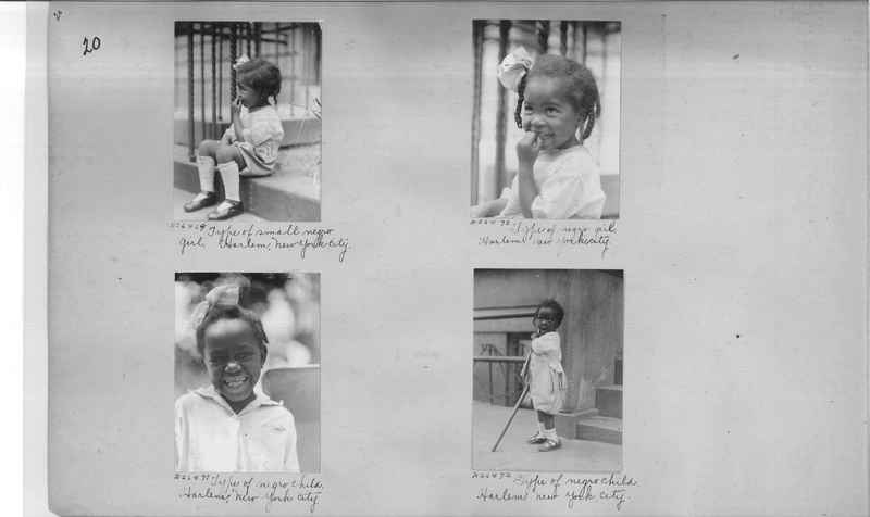 Mission Photograph Album - Negro #4 page 0020