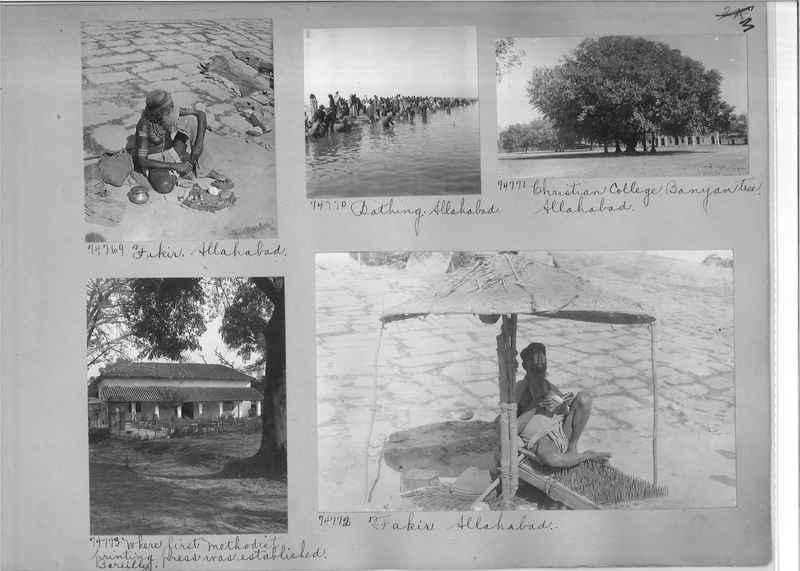 Mission Photograph Album - India #09 Page 0003