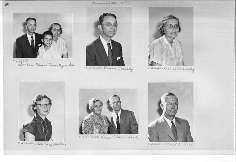 Mission Photograph Album - Portraits #10 Page 0066
