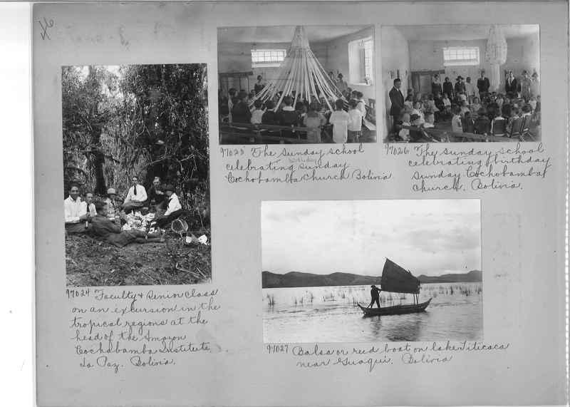 Misson Photograph Album - South America #8 page 0046