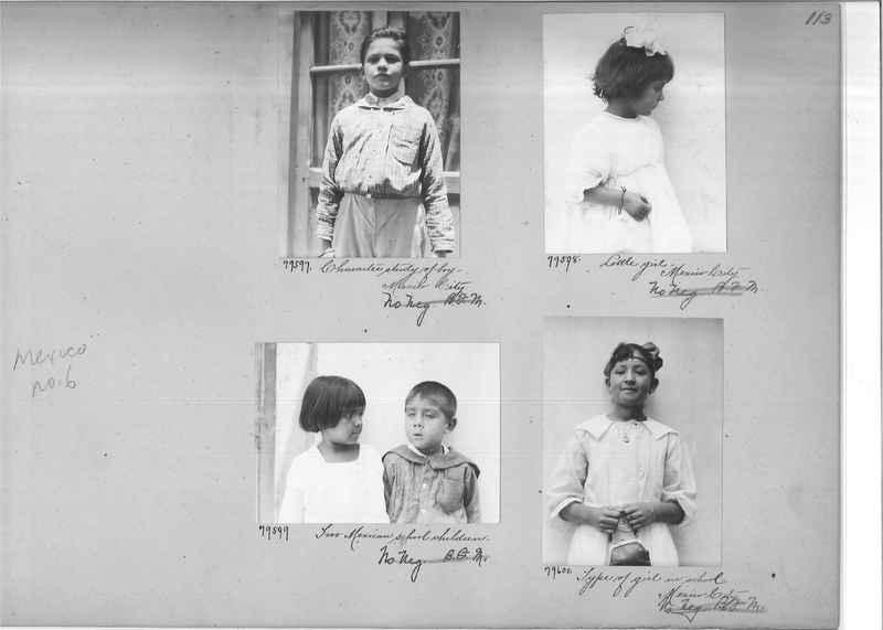 Mission Photograph Album - Mexico #06 page 0113