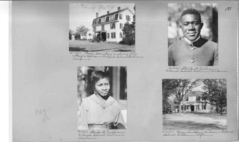Mission Photograph Album - Negro #2 page 0191