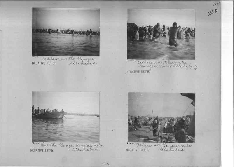 Mission Photograph Album - India #09 Page 0223