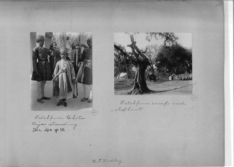 Mission Photograph Album - India - O.P. #02 Page 0115