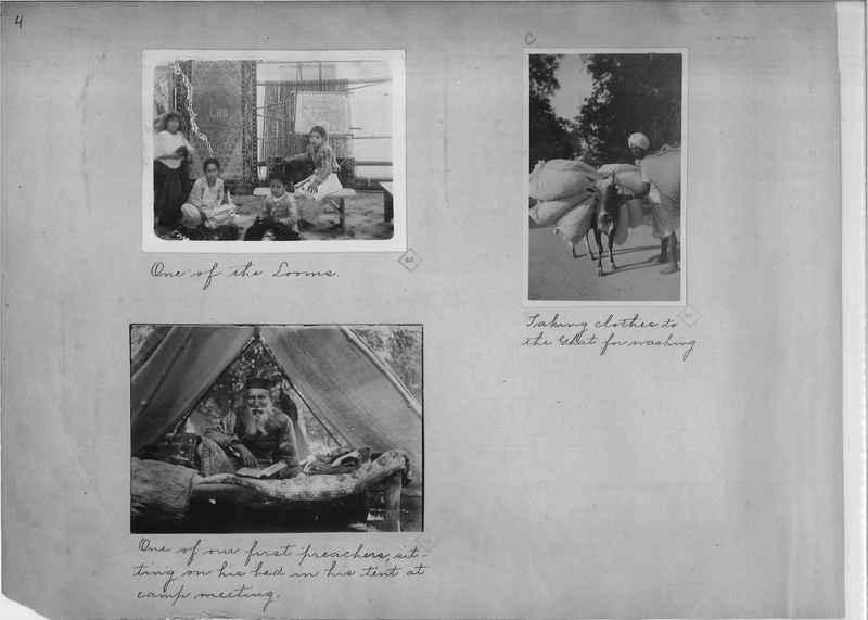Mission Photograph Album - India - O.P. #01 Page 0004