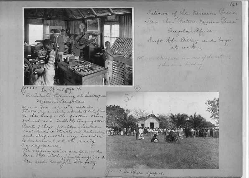 Mission Photograph Album - Africa - Madeira O.P. #1 page 0141