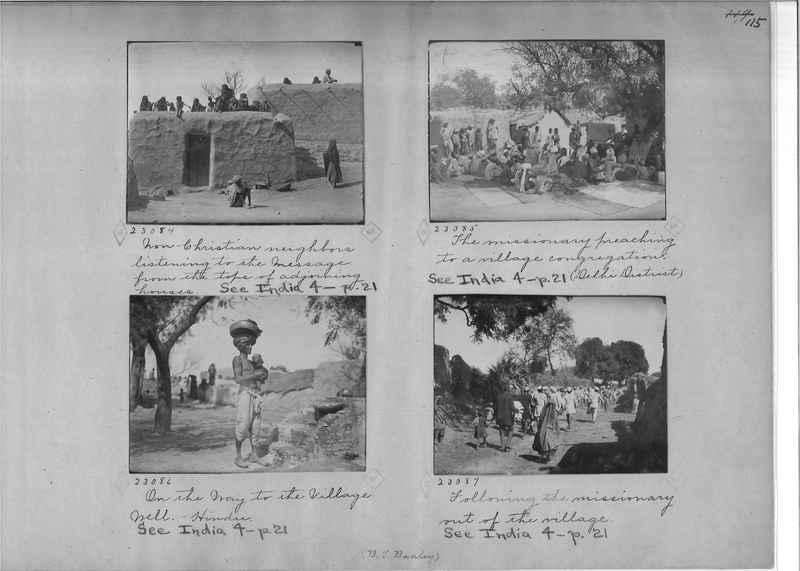 Mission Photograph Album - India - O.P. #01 Page 0115