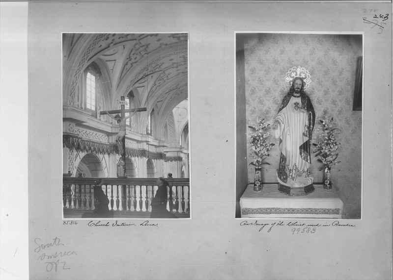 Mission Photograph Album - South America O.P. #2 page 0243