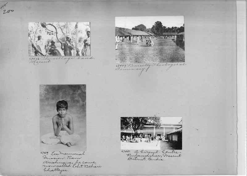 Mission Photograph Album - India #08 Page 0200
