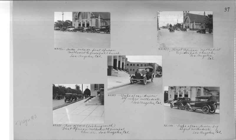 Mission Photograph Album - Negro #3 page 0037