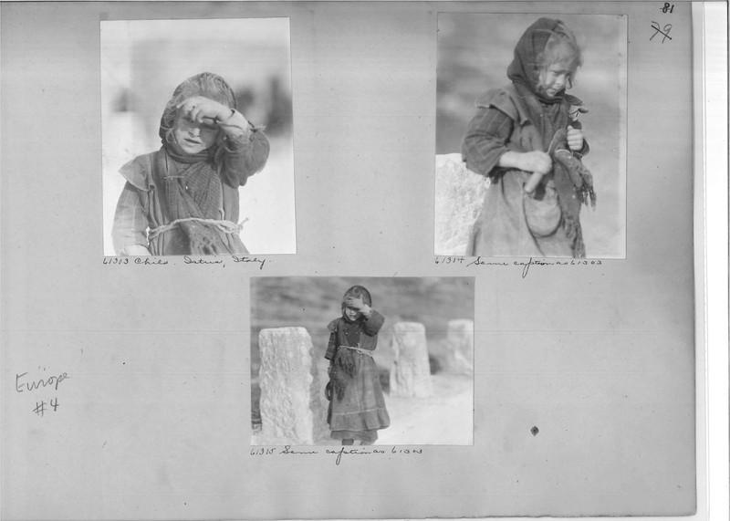 Mission Photograph Album - Europe #04 Page 0081