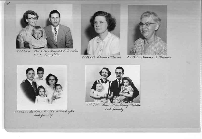 Mission Photograph Album - Portraits #08 Page 0114