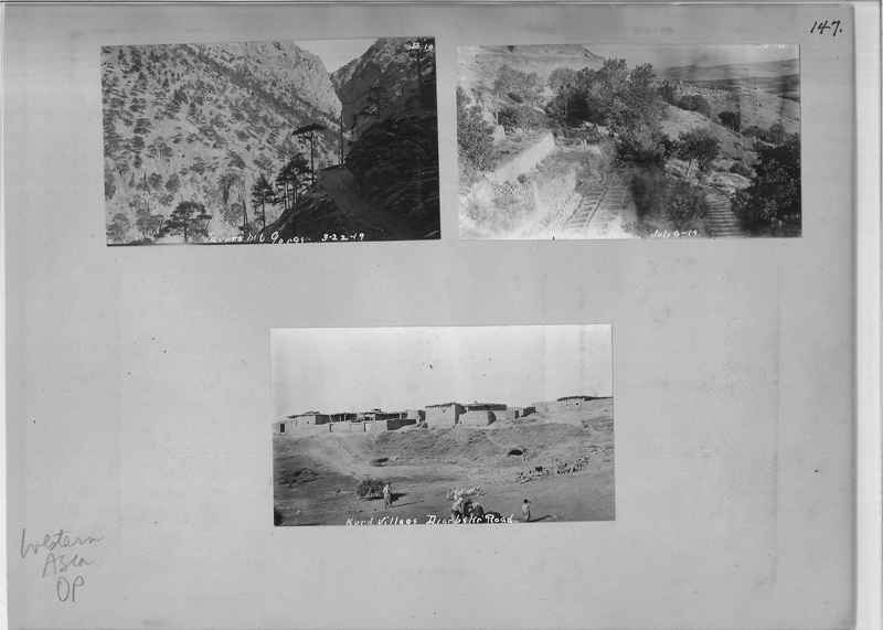 Mission Photograph Album - Western Asia - O.P. - #01 page_0147